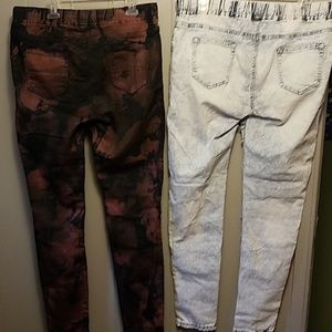 American Bazi Jeans - 2 pairs skinny jeans